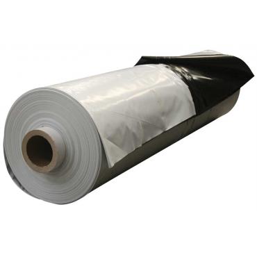 Folie siloz 12x33 Negru/alb