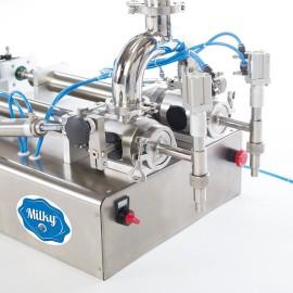 Aparat de umplut semiautomat Milky - Félautómata töltőgép Milky