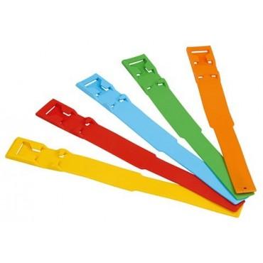 Benzi de identificare cu clips 37 cm