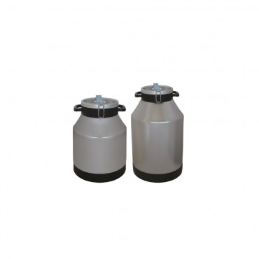 Milk can for carrying with locking system