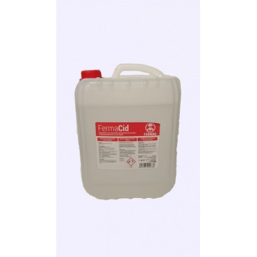 Detergent acid lichid 10 Kg pentru aparate de muls FermaCid