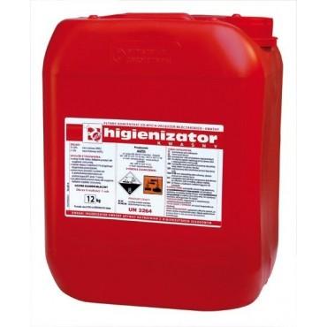 Detergent acid lichid 12 Kg pentru aparate de muls