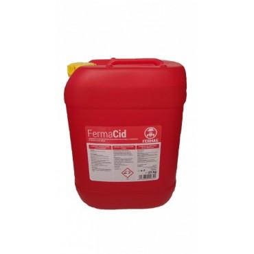 Detergent acid lichid 25 Kg pentru aparate de muls FermaCid