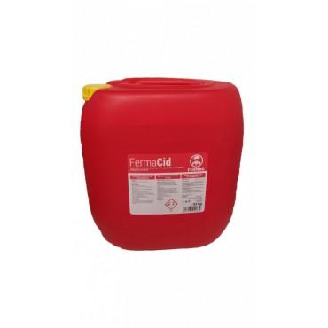 Detergent acid lichid 35 Kg pentru aparate de muls FermaCid