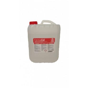 Detergent acid lichid 5 Kg pentru aparate de muls FermaCid