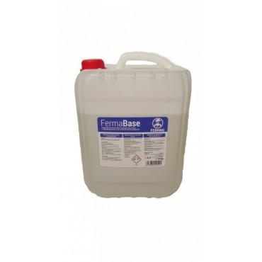 Detergent alcalin lichid 10 Kg pentru aparate de muls FermaBase
