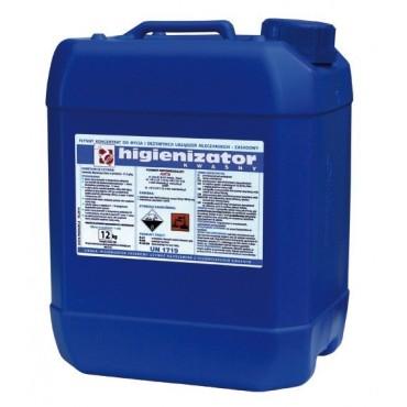 Detergent alcalin lichid 12 Kg pentru aparate de muls