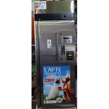 Milk vending machine with 130 L ss milk tank