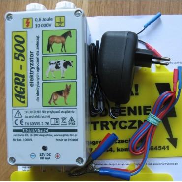 Pachet gard electric Agri500