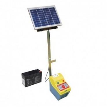 Pachet gard electric cu panou solar