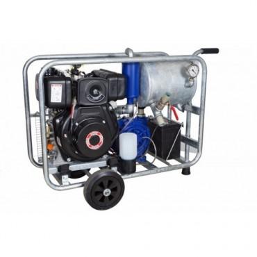 Pompa de vacuum diesel mobil 750l/min